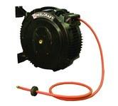 Reelcraft Industries S Series 50 pies Negro Compuesto Carrete de manguera - longitud total 22.75 pulg. - Ancho 9.5 pulg. - Altura 19 pulg. - 00040