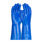 PIP Assurance Azul Grande Nitrilo No compatible Guantes resistentes a productos químicos - acabado Liso - Longitud 13 pulg. - 616314-50319