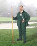 Dunlop Sitex 76600 Verde Grande Poliéster/PVC Traje de lluvia - 2 Bolsillos - Para tamaño del pecho 54 pulg. - Entrepierna 30 pulg. - 791079-14178