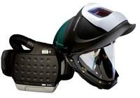3M Adflo 34-0705-SGXX Máscara completa Respirador para soldadura - Montado en cinturón - Montado en cinturón - ADF 2000 horas, PAPR: hasta 12 horas Ion de litio - 051141-56172
