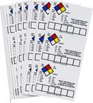 Brady 121059 Vinilo Etiqueta de almacenamiento de equipo - Exterior - Ancho 2 in - Altura 1 1/2 in - B-7569