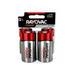 Rayovac Fusion 813 Estándar Batería - Desechables Alcalino D