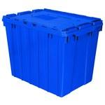 Akro-mils Keepbox 17 gal 100 lb Azul Polímero de grado industrial Contenedor de tapa adjunto - longitud 21 1/2 pulg. - Ancho 15 pulg. - Altura 17 pulg. - 39170 BLUE