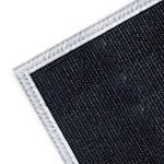 Wilson Negro Fibra de vidrio 24 oz Manta para soldadura - Ancho 4 pies - Longitud 6 pies - 036000-37597