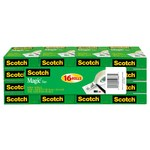 3M Scotch 810K16 Magic Cinta de oficina Transparente - 3/4 in Ancho x 1000 in Longitud - 52667