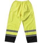 PIP 318-1757YEL Negro/Lima de alta visibilidad Pequeño Poliéster Pantalones de alta visibilidad - 2 Bolsillos - 616314-56338