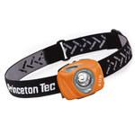 Princeton Tec EOS Industrial Naranja Lámpara de cabeza - Lúmenes 130 LEDs 1 Blanco - (3) AAA 3 modos - 01421