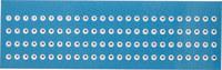 Brady SER-620A-1-100 Negro sobre blanco Poliéster Etiqueta de nivel de revisión - B-953