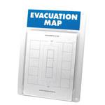 Brady Prinzing Soporte de mapa de evacuación - EVACU8