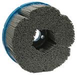 Weiler Carburo de silicio Disco de cerdas - Fina grado - Accesorio Eje - Agujero Central 7/8 in - 85842