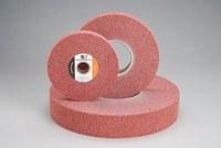 Standard Abrasives 857382 A/O óxido de aluminio AO Disco lustrador - Mediano grado - Diámetro 8 pulg. - Agujero Central 3 pulg. - Grosor 1 pulg. - 37103