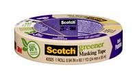 3M Scotch 2025 Greener Cinta de pintor/enmascarar Tostado - 0.94 in Ancho x 60.1 yd Longitud - 87017