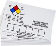 Brady 121056 Vinilo Etiqueta de almacenamiento de equipo - Exterior - Ancho 5 in - Altura 3 in - B-7569