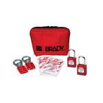 Brady Rojo Kit de candado - 754476-03486