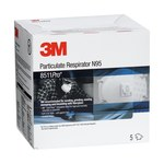 3M 8511Pro Estándar Copa moldeada Respirador de partículas - 051135-89172