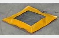 Eagle Blanco/amarillo 1 GAL. Almohadilla absorbente - Ancho 22 in - Longitud 22 in - 048441-00663