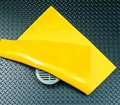 Brady Slikstopper Amarillo PVC Sello - Ancho 18 pulg. - Longitud 18 pulg. - 662706-89001