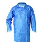 Kimberly-Clark Kleenguard A60 Azul 3XL Tejido compuesto microporoso Bata de laboratorio resistente a productos químicos - 2 Bolsillos - 036000-27326