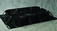 Eagle Talon Negro 80 gal Berma para derrames - Ancho 4 ft - Longitud 4 ft - Altura 8 in - 048441-00631