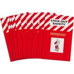Brady Manual de capacitación de bloqueo/etiquetado - Título de capacitación = LOTO - 754476-43560