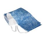 Brady Azul/Blanco 25 gal Escobilla absorbente 107824 - Ancho 19 pulg. - Longitud 100 pies - 662706-36113