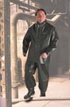 Dunlop Duratex 70032 Verde Grande Poliéster de alta tensión/PVC Chaqueta de trabajo - Capucha desmontable - Para tamaño del pecho 54 pulg. - 791079-14759