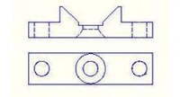 Loctite 1638885 Soporte para montaje - Para uso con EQ VA10 - Válvula de microdiafragma