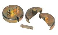Justrite Master Lock 08509 Zinc Dispositivo de bloqueo del tapón del tambor - 697841-13220