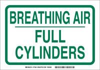 Brady 17945 Verde sobre blanco Multicolor de uso general Marcador de tubería autoadhesivo - Longitud 10 in - B-946
