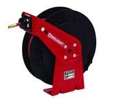 Reelcraft Industries RT Series 25 pies Rojo/negro Acero / Compuesto Carrete de manguera - longitud total 16.5 pulg. - Ancho 5.75 pulg. - Altura 17.625 pulg. - 00045