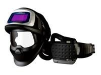 3M Adflo 9100 FX-Air 36-1101-20SW Máscara completa Respirador para soldadura - Montado en cinturón - Montado en cinturón - ADF 2500 horas, PAPR: hasta 12 horas Ion de litio - 051141-56157