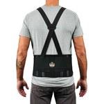 Ergodyne ProFlex 1625 Negro Grande Elástico Cinturón de soporte para la espalda - 720476-11114