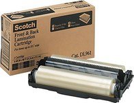 3M Scotch Transparente Rollo laminador - Ancho 8.6 pulg. - Longitud 90 pulg. - 47250