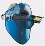 Fibre-Metal Tigerhood Classic Gris Termoplástico Voltear hacia adelante Ensamblaje de casco - A granel - Ancho de Vista 4 1/4 pulg. - FIBRE-METAL 5906GYBP
