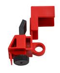 Brady Negro/Rojo Dispositivo de bloqueo de disyuntor 73744 - A granel - 754473-73744