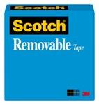 3M Scotch 811 Cinta de oficina Transparente - 1/2 pulg. Ancho x 1296 pulg. Longitud - 19243
