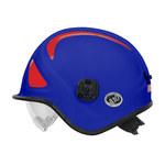 PIP Pacific A10 Azul Kevlar Casco de ambulancia y paramédico - Ajuste Trinquete - 616314-14891