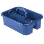 Akro-mils Azul Polímero de grado industrial Contenedor de carga - longitud total 13 7/8 pulg. - Ancho 18 3/8 pulg. - Altura 9 pulg. - 09185BLUE