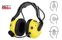 Sonetics Amarillo Auriculares de comunicación - APX377-OH