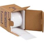 Brady PermaSleeve 3FR-094-2-WT-S-2 Blanco Manga para impresora de transferencia térmica troquelada - Altura 0.182 pulg. - Dia Min Alambre 0.023 pulg. a Dia Max Alambre 0.08 pulg. - Imprimible a doble