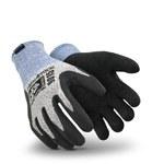 Hexarmesesr 9000 Negro/Azul/Gris 9 Coretek/Superfabric Guantes resistentes a cortes - 9015 SZ 9