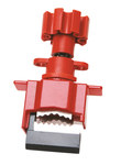 Brady Rojo Nailon Bloqueo de válvula de compuerta 50924 - 754476-50924