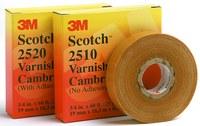 3M Scotch 2520 Cinta aislante Amarillo - 1 pulg. Ancho x 36 yd Longitud - 8 mil Grosor - 04833