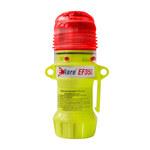 PIP E-Flare 939-EF350 Rojo Faro de seguridad - Altura 6 pulg. - Diámetro total 1.6 pulg. - 616314-96884