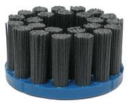 Weiler Carburo de silicio Disco de cerdas - Mediano grado - Accesorio Eje - Agujero Central 7/8 pulg. - Tipo de material: estándar - 85826