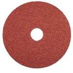 Dynabrade Recubierto Óxido de aluminio Disco de fibra - Diámetro 4 1/2 pulg. - Agujero Central 7/8 pulg. - 79314