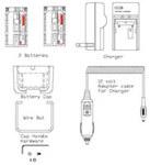 Loctite 1044301 Kit de batería - Para uso con 1003327 - Temporizador de mango de pistola