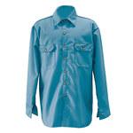 Chicago Protective Apparel Grande 6 oz Camisa resistente al fuego - 625-FR9B-MB LG
