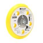 3M 20206 Amarillo Almohadilla de respaldo para disco de lijado - Velcro Rosca para Accesorio