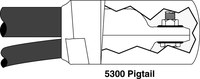 3M 5301 Negro EPDM Kit de empalme de plomo del motor - 12263
